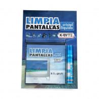 LIMPIADOR PANTALLAS K BYTE  CRISTAL LIQUIDO LCD