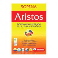 DICCIONARIO SOPENA ARISTO ILUSTRADO LENGUA ESPAñOLA 831 PAGINAS TAPA FLEXIBLE 23 CM X 15 CM