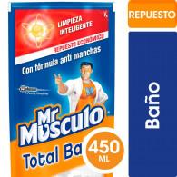 LIMPIADOR BAÑO 450 CC REPUESTO DOYPACK