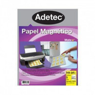 PAPEL MAGNÉTICO INK-JET MATE A5 650 GRS - 3 HOJAS