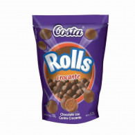CHOCOLATE ROLLS CROCANTE 150 GRS