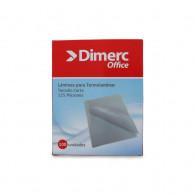 SOBRE  PARA PLASTIFICAR DIMERC CARTA 100 UNIDADES 125 MICRONES 229 MM X 290 MM