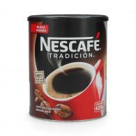 CAFÉ INSTANTÁNEO NESCAFE TRADICIÓN TARRO 420 G