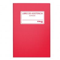 LIBRO ADM REGISTRO ASISTENCIA 50 HJ