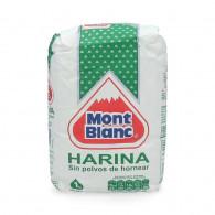 HARINA SIN POLVOS DE HORNEAR 1 KILO MONT BLANC