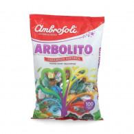 DULCE ARBOLITO 100 UNIDADES AMBROSOLI