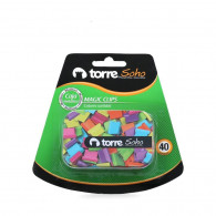 MAGIC CLIPS COLORES 40 U BL. CAJA METAL. TORRE