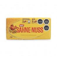 CHOCOLATE  SAHNE-NUSS 250 GRAMOS NESTLE