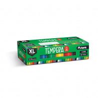 TEMPERA 22 ML 12 COLORES TALLA X
