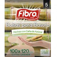 BOLSA BASURA ECOLOGICA 100X120 5 UN FIBRO