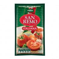 SALSA TOMATE ITALIANA SACHET 200 GR SAN REMO