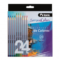 SET LAPICES COLOR SOC 24 COLORES