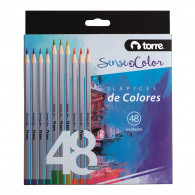 SET LAPICES COLOR SOC 48 COLORES