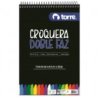 CROQUERA OFICIO 21 X 32 CM 50 HOJAS