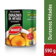 DURAZNOS MITADES 590 GR WASIL