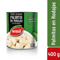 PALMITOS RODAJAS 400GRS WASIL