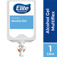 ALCOHOL GEL 1 LT 6 UN MULTIFLEX