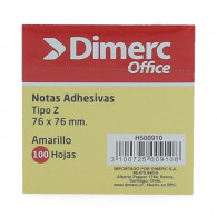 NOTA ADHESIVA DIMERC POP UP ZR 330 BLOCK 100 HOJAS AMARILLO