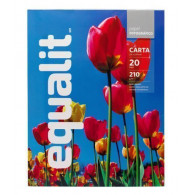 PAPEL FOTOCOPIA CARTA PHOTOPAPER GLOSSY 210 G EQUALIT