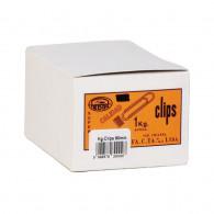 CLIPS METALICO N80 REDONDO 80 MM GIGANTE 1 KG