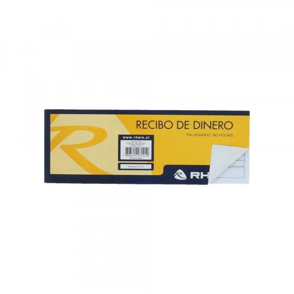 FORMULARIO RECIBO DINERO 50 HOJAS RHEIN - Dimerc.cl