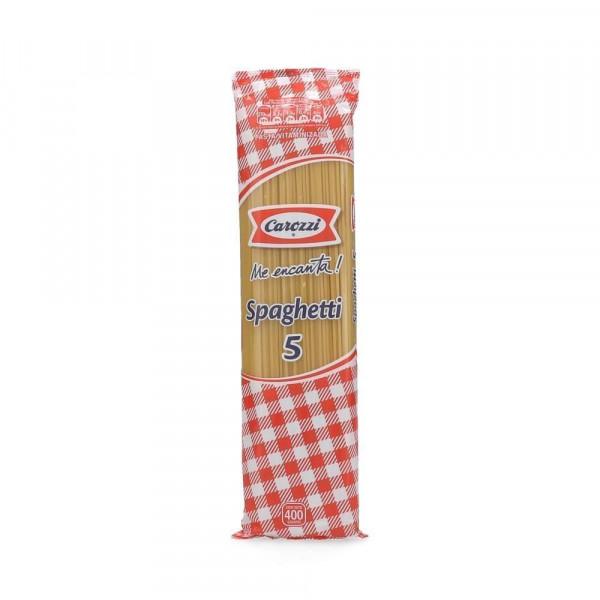 Fideos Spaghetti Nº5 400 G Carozzi Dimerccl